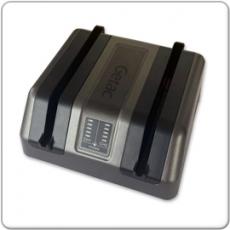 Getac F110 External Dual Bay Main Battery Charger inkl. Stromkabel