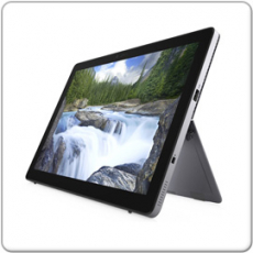 DELL Latitude 7200 Tablet, Intel Core i5-8265U - 1.6GHz, 8GB, 256GB SSD