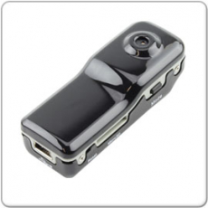 Mini DV Voice Recorder, Sport Camera, Video Recorder inkl. Halterung