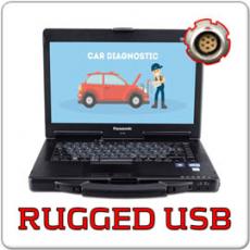 Panasonic Toughbook CF-53 - MK2, Intel Core i5-3320M - 2.6GHz, 8GB, 256GB SSD