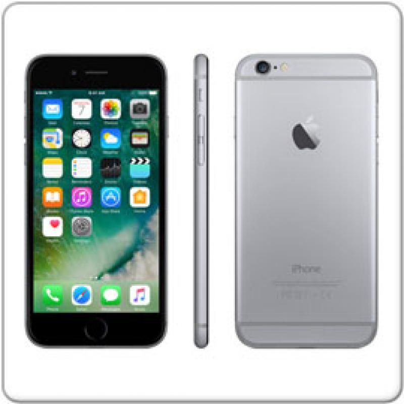 apple iphone 6 space grau a8 64gb ssd 4 7 cm gebraucht. Black Bedroom Furniture Sets. Home Design Ideas
