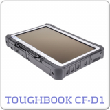 Panasonic Toughbook CF-D1 MK2 Tablet, Celeron 1037U - 1.8 GHz, 4GB, 128GB SSD