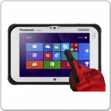 Panasonic ToughPad FZ-M1 - MK1, Intel Celeron N2807 - 1.58GHz, 4GB, 128GB SSD
