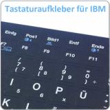 Notebook Tastaturaufkleber für  IBM/Lenovo Notebooks
