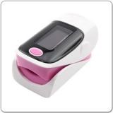 Tragbare Finger Pulse Oximeter Weiß/Pink mit 1.1(2.79 cm) Bildschirm