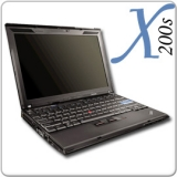 Lenovo ThinkPad X200s, Core 2 Duo SL9300, 1.6GHz, 2GB, 160GB