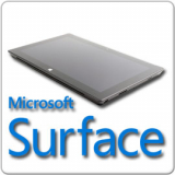 Microsoft Surface Pro Tablet, Core i5-3317U - 1.7GHz, 4GB, 128GB SSD