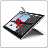 Microsoft Surface Pro 4 Tablet, Core i5-6300U - 2.4GHz, 4GB, 128GB SSD