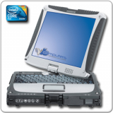 Panasonic Toughbook CF-19 MK3, Intel Core 2 Duo SU9300, 1.2GHz, 4GB, 160GB
