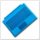 Microsoft Surface Pro 3 & Surface Pro 4 Tastatur BLAU *DEUTSCH*
